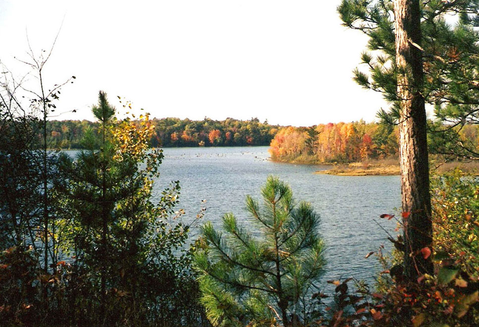 Scenic AuSable River Backwaters
